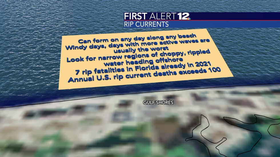Rip currents are one of the most deadly weather phenomena in the U.S. each year.