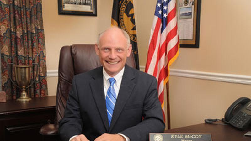 Lanett Mayor Kyle McCoy