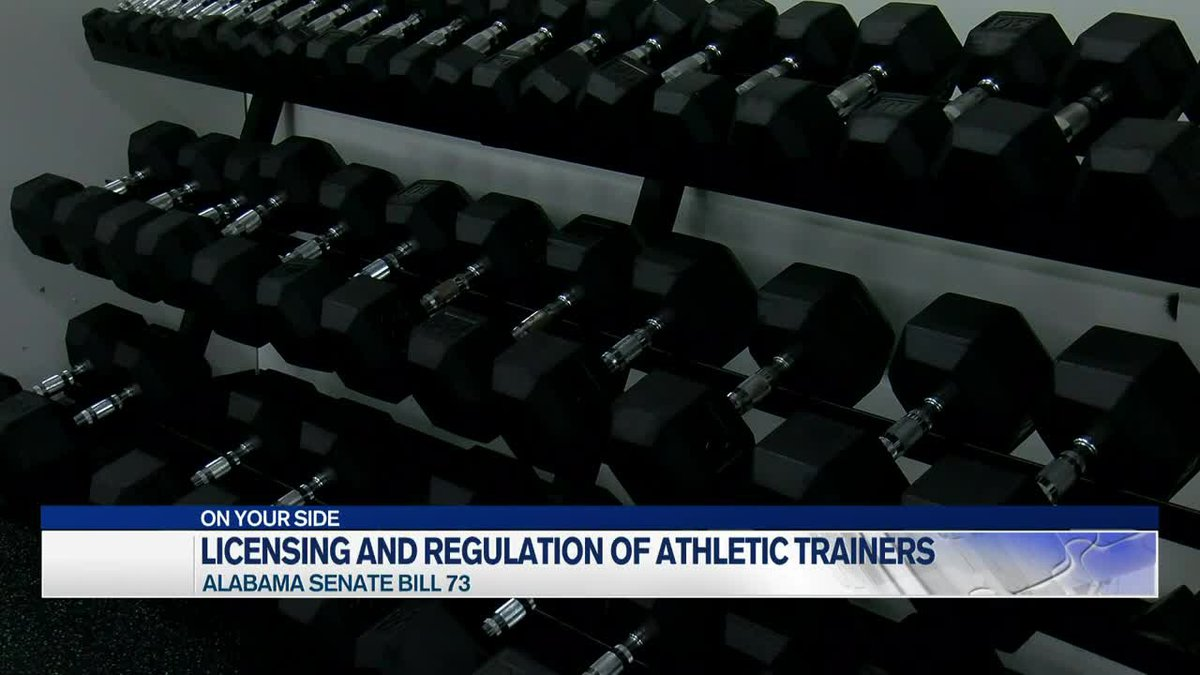 Alabama Senate Bill 73 looks at licensing and regulation of athletic trainers