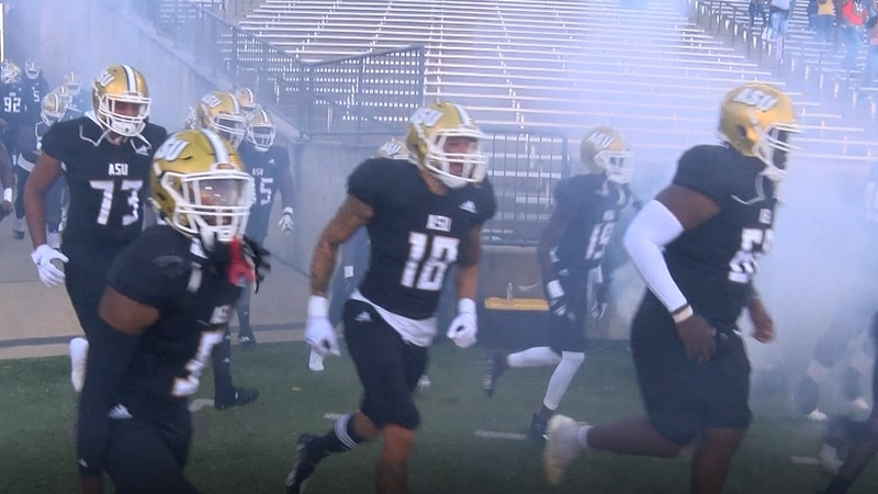 The Alabama State Hornets took down the Bethune-Cookman Wildcats at Hornets Stadium Saturday.