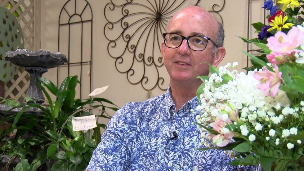 Andalusian florist Alan Cotton lost his beloved wife over 40 two weeks ago in ...