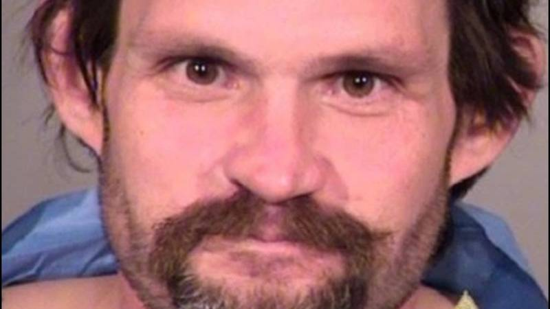 Lewis Phillips II, charged with murder and corpse abuse in Oregon.