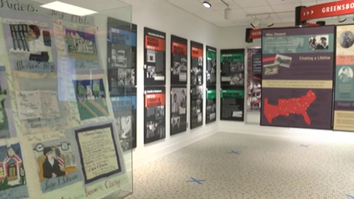 The Freedom Rides Museum has made many adjustments to how visitors tour the museum.
