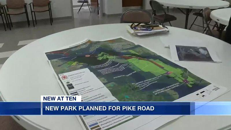 New park under development in Pike Road
