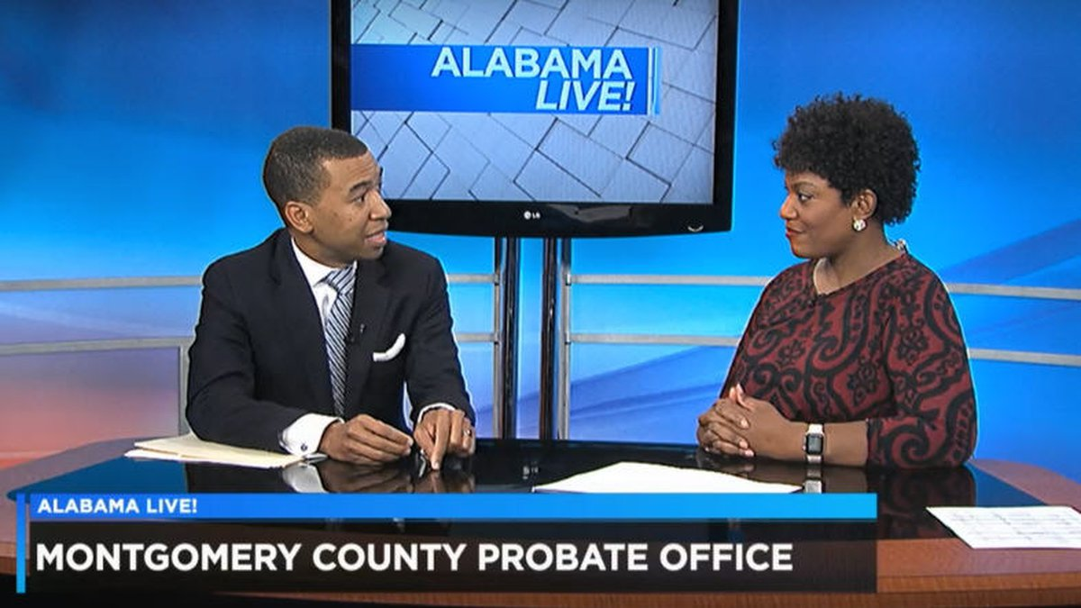 Montgomery County Probate Judge Steven Reed announced on WSFA 12 News' community events...