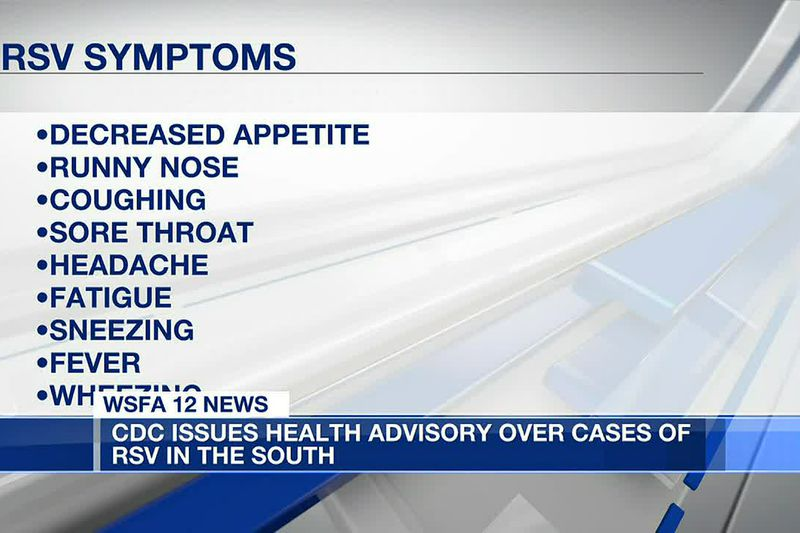 CDC warns of respiratory illness spreading across the South