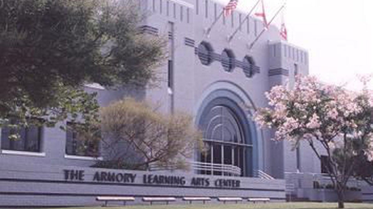 The Arts Council is housed in Montgomery's Armory Learning Arts Center.