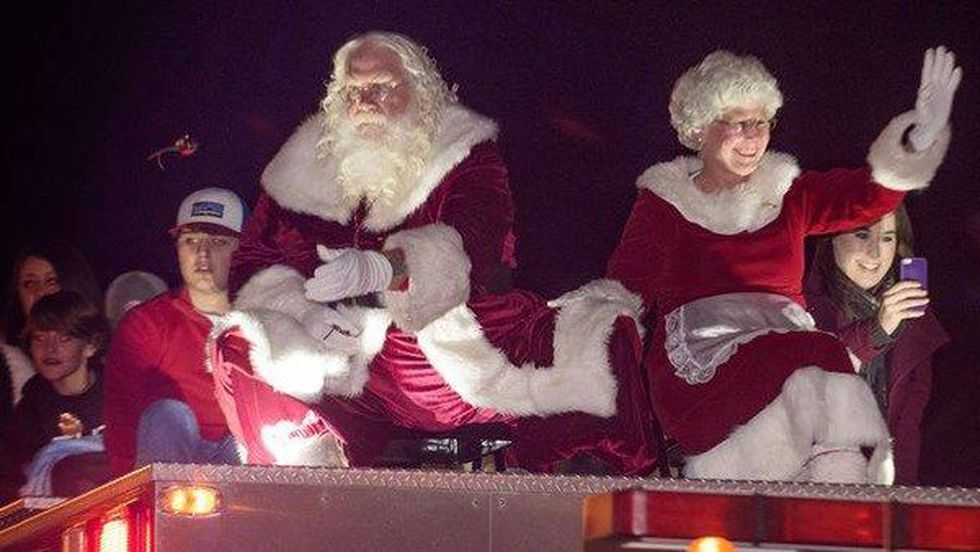 Dave Reid is a professional Santa. (Source: Dave Reid)