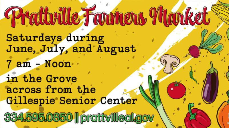 Prattville Farmers Market starts June 5
