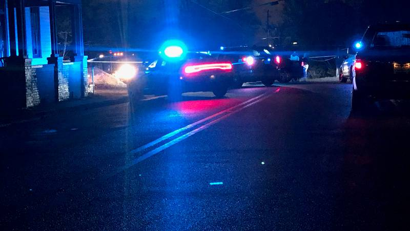 Heavy police presence on Sandfort Rd. in Phenix City