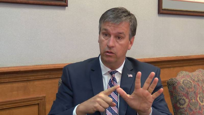 Barry Moore is one of seven candidates vying for the Republican nomination for U.S. House...