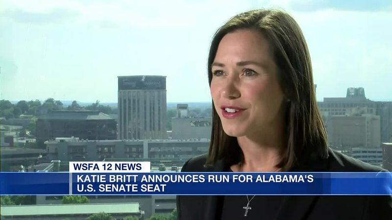 Britt enters US Senate race