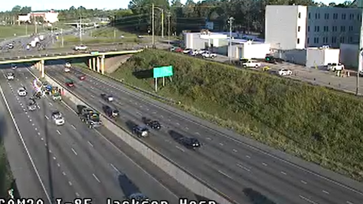 Motorists traveling on Interstate 85 northbound may experience delays after a crash near exit 2.