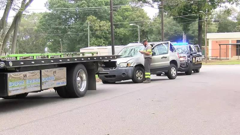 Search for shooting suspect leads to pursuit in Montgomery