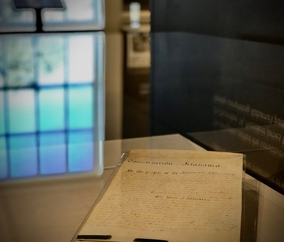 Alabama's six constitutions will be on display at the Alabama Department of Archives and...