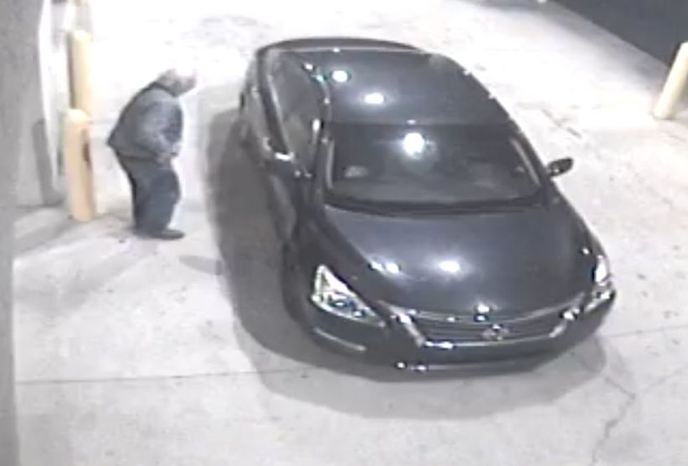 The suspects could be driving this vehicle.