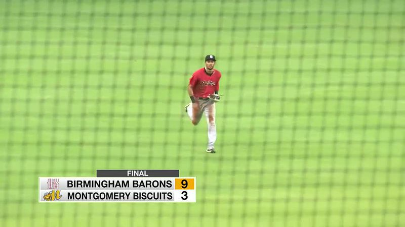 Montgomery Biscuits fall to Barons 9-3