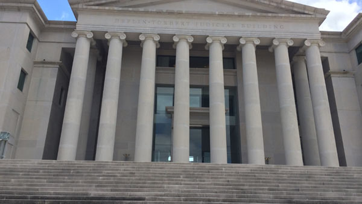The Alabama Supreme Court building in Montgomery.