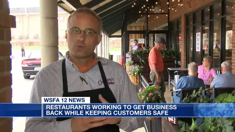 Restaurants working to get business back while keeping customers safe