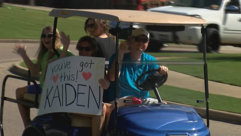$10,200 has already been raised to help pay for Kaiden's medical expenses.