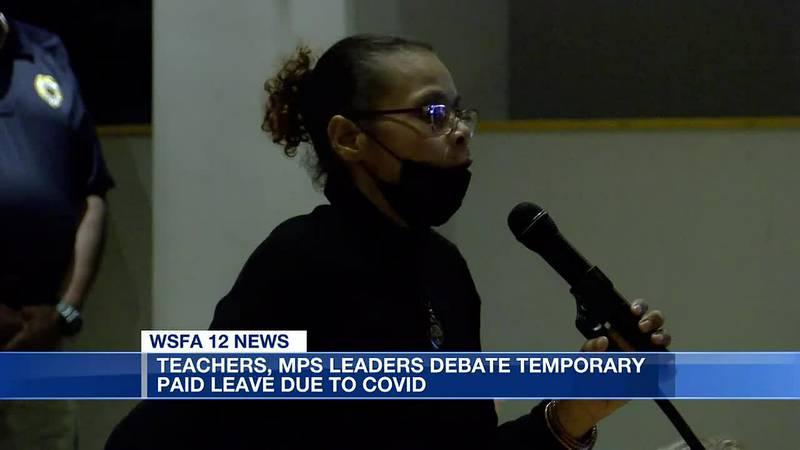 MPS teachers, leaders debate temporary COVID-19 paid leave