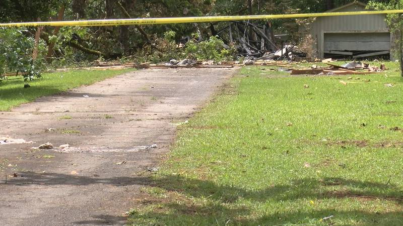 Authorities believe a gas leak is responsible for house explosion on Highway 22 near the Coosa...