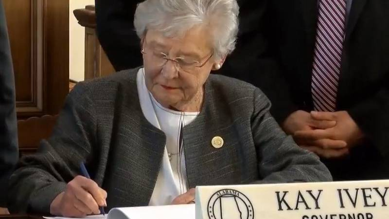 Alabama Gov. Kay Ivey has signed into law a bill that will raise the state's fuel taxes by 10...