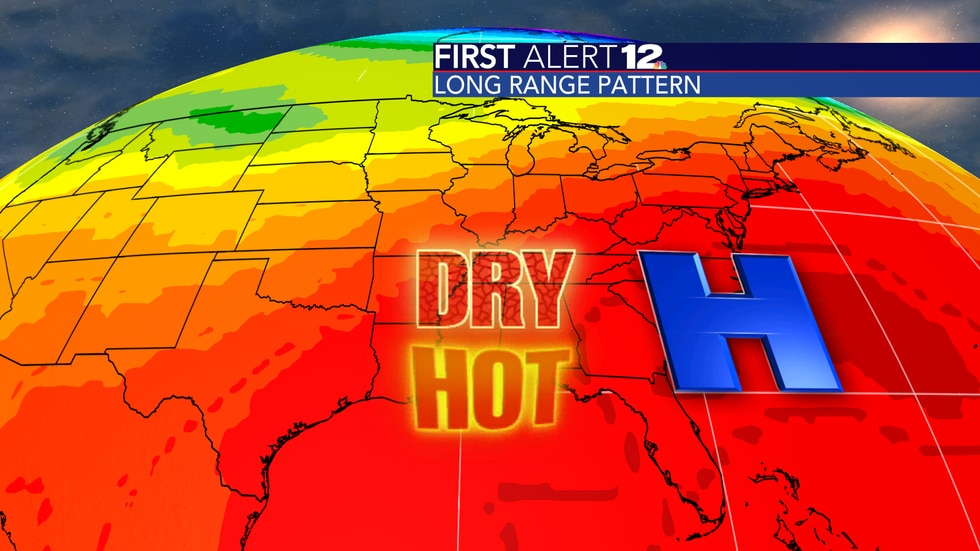 The rest of May will be hot and dry with no severe weather risk.