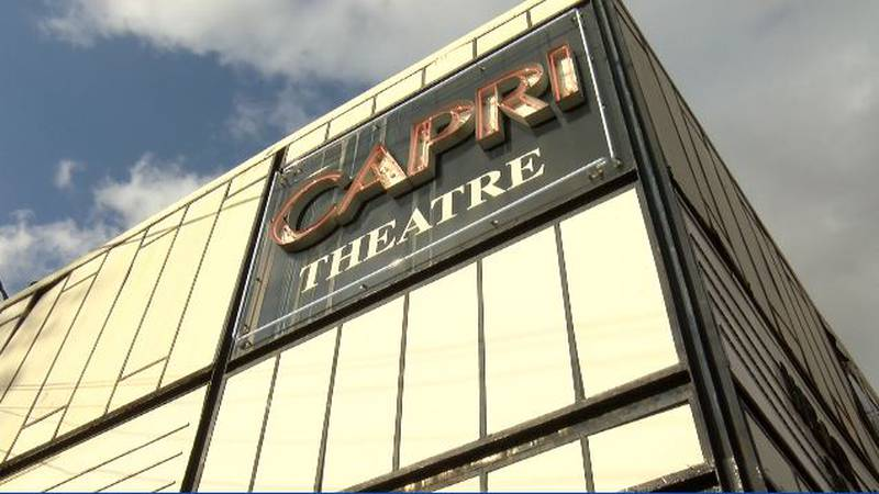 The Capri Theater is raising money to build a new marquee that is more in line with its past.