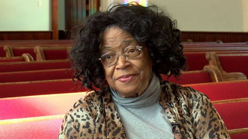 Music is Althea Thomas' passion andit's a love that didn't go unnoticed by the young pastor...