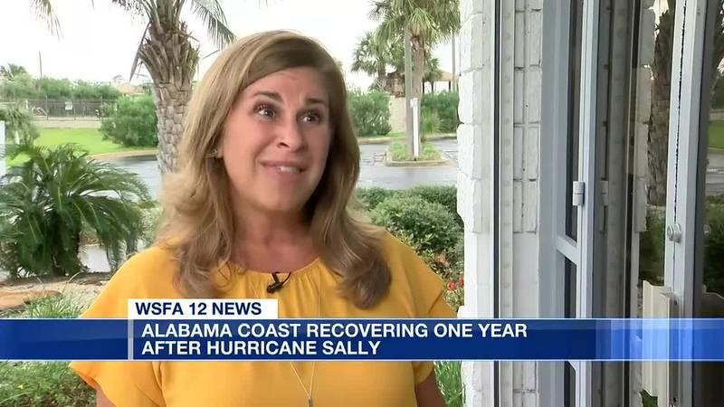 1-year anniversary of Hurricane Sally