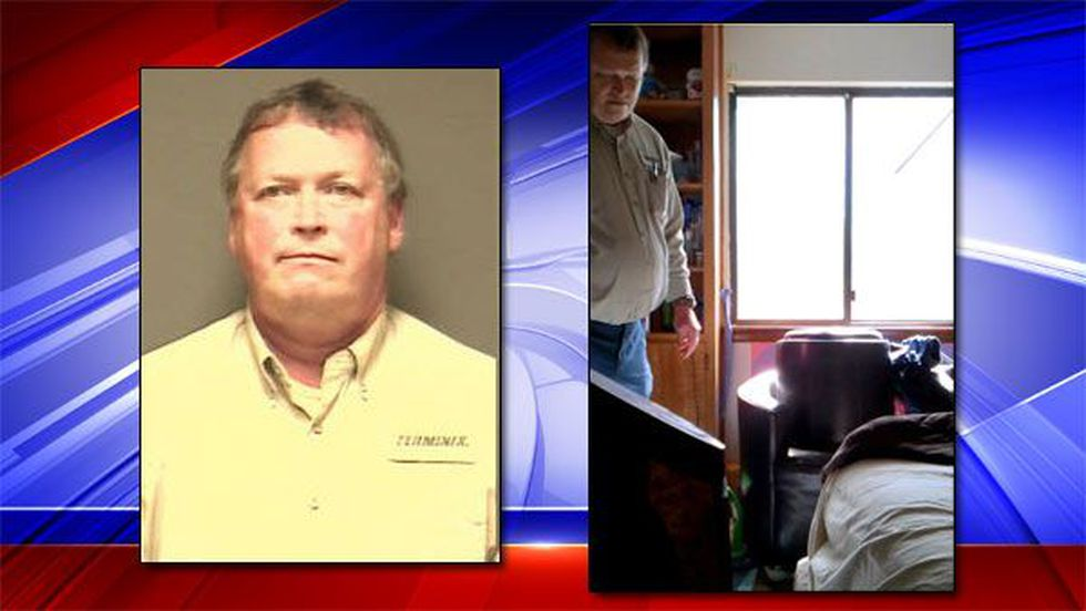 Mug shot of Rodney Bolin and photo of himself in this surveillance video (Source: Dothan Police...