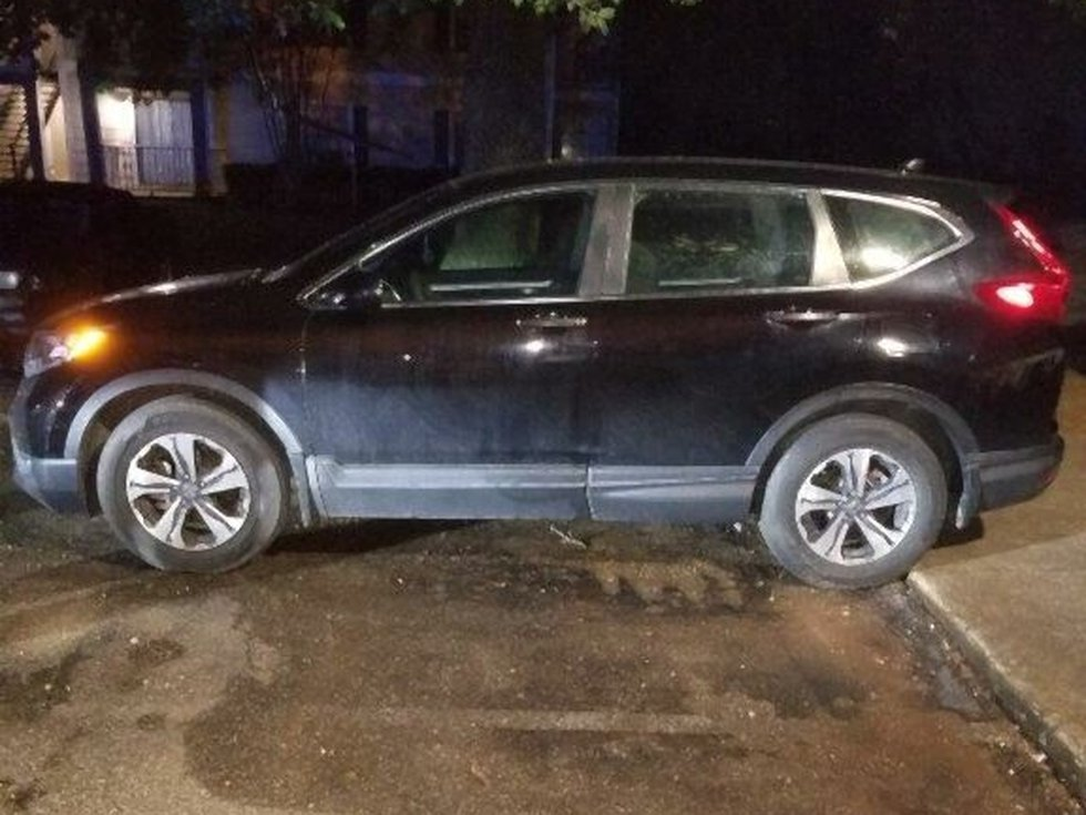 Auburn police say the vehicle of Aniah Blanchard was located at a Montgomery apartment complex...