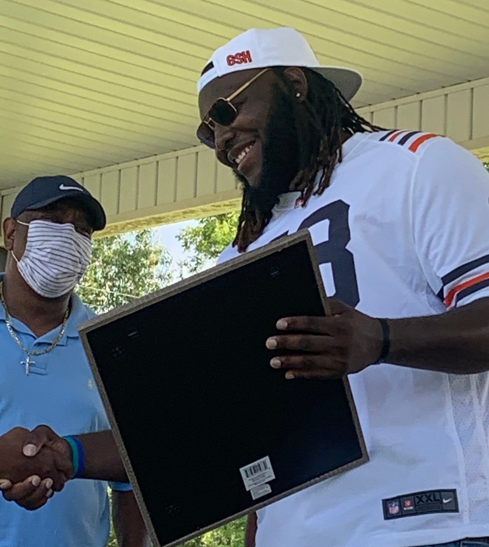 Orrville, Alabama celebrated Keith High School alum LaChavious Simmons; he  was drafted to the...