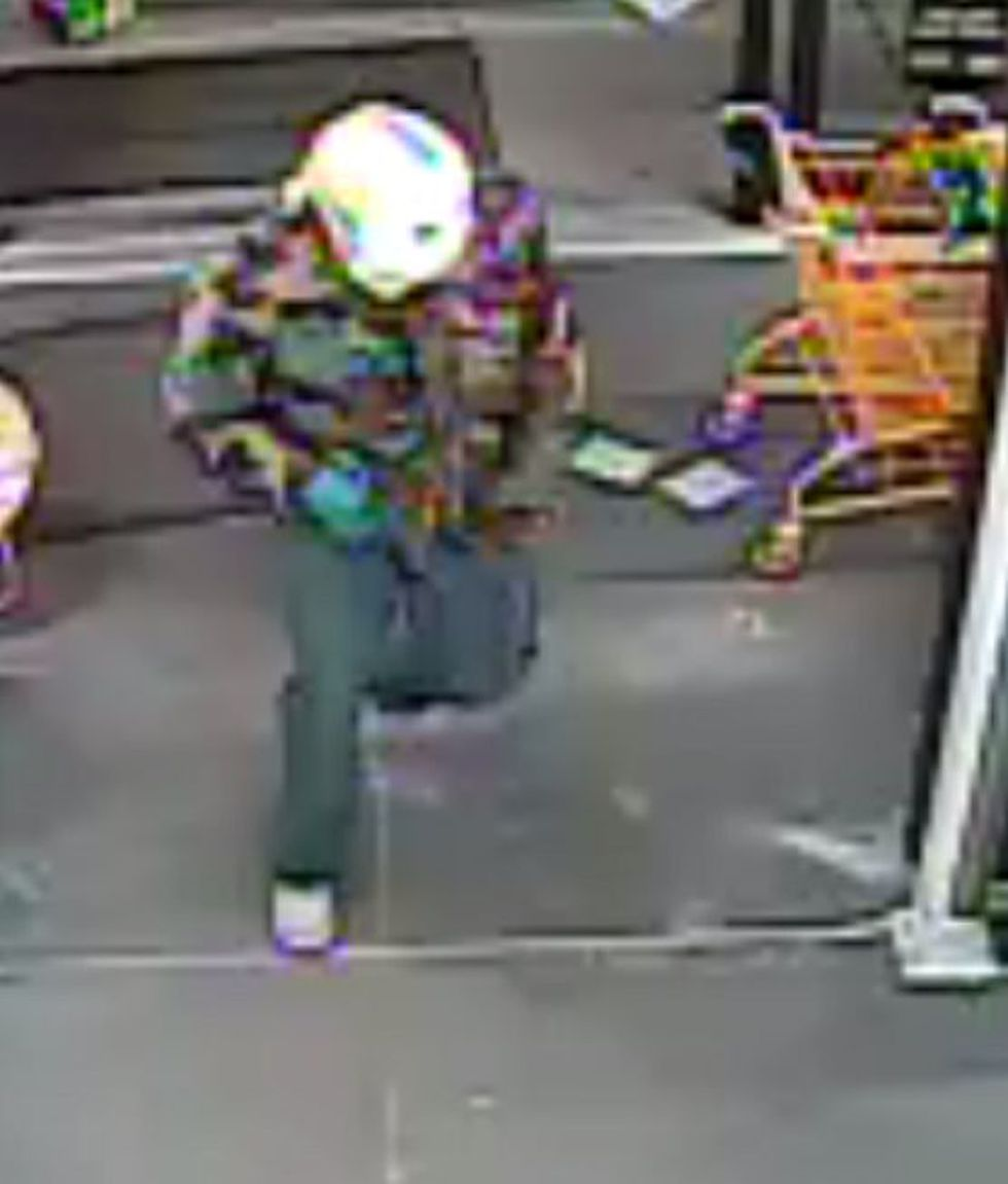 Two suspects are sought in an armed robbery at a Dollar General in Troy.