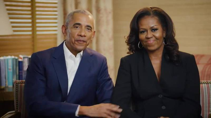 The Obamas will be at a groundbreaking for the Presidential Center in Chicago.