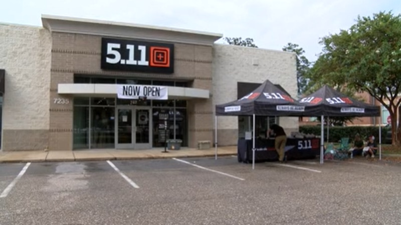 5.11  celebrated its grand opening in Montgomery Saturday.