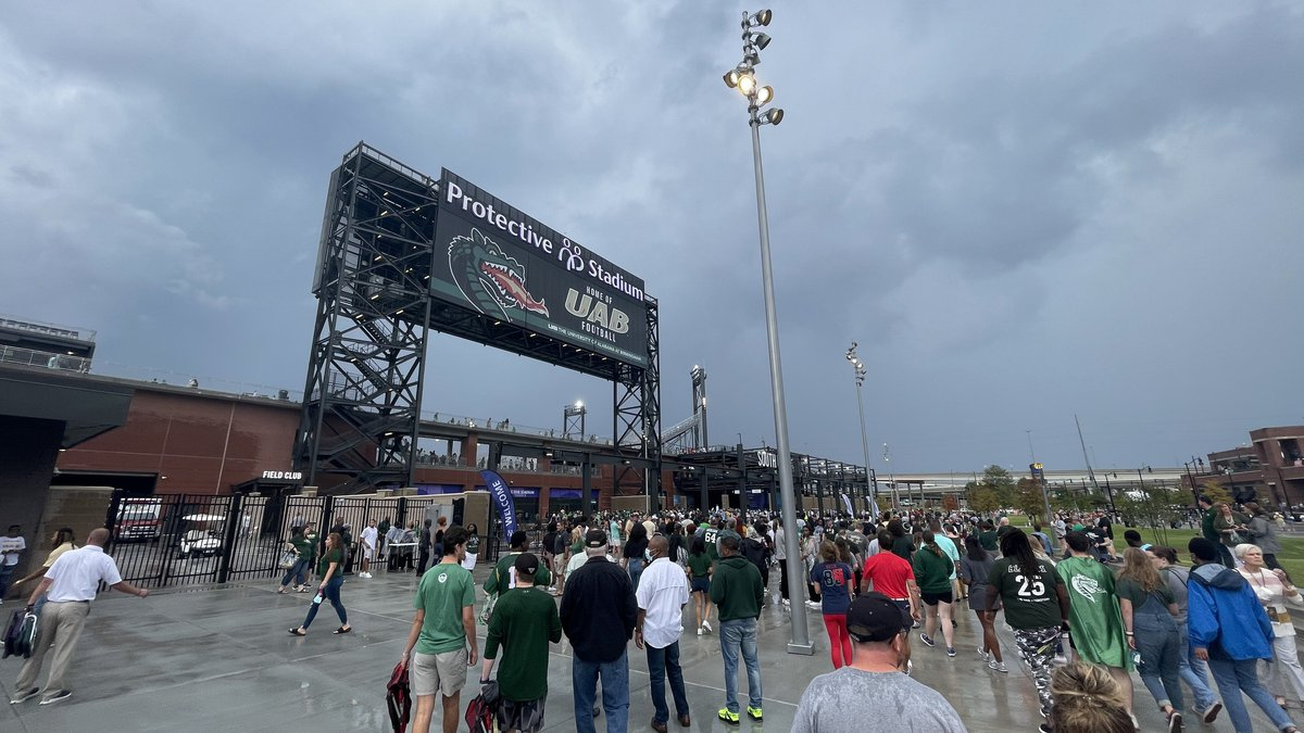 First UAB game at Protective Stadium