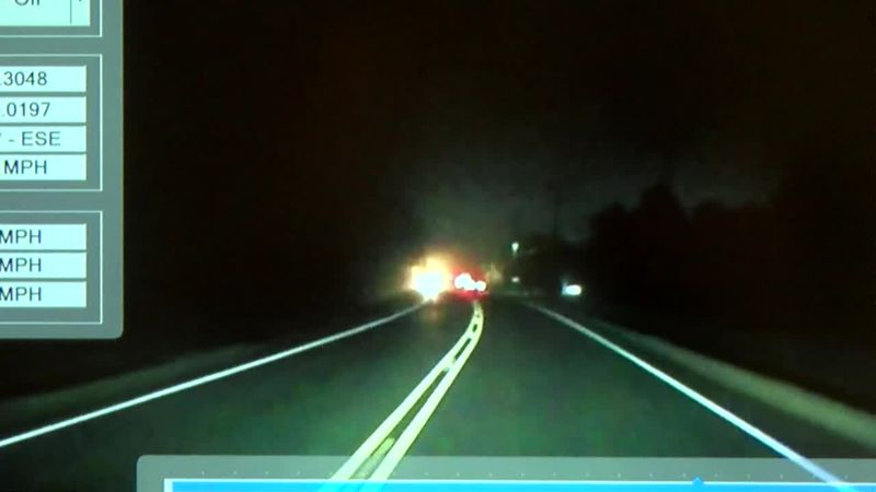 MCSO dash cam video from high-speed chase