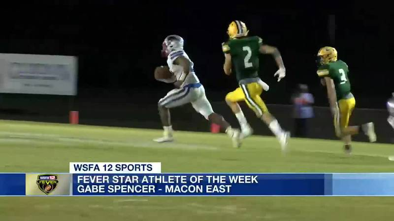 Macon East's Gabe Spencer wins Fever Star Athlete of the Week