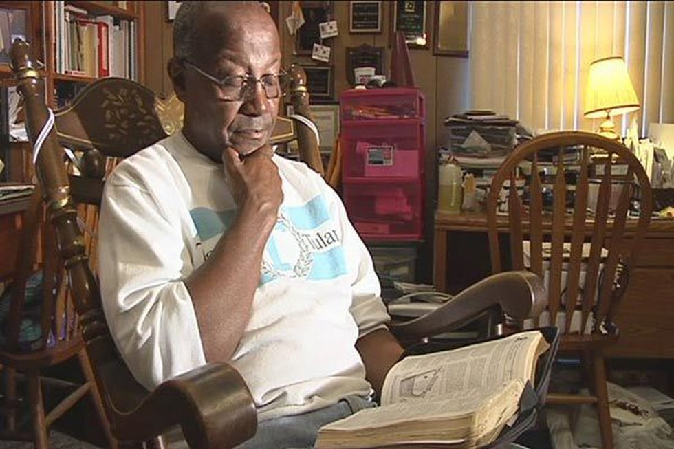 Deacon Nathan Williams, Jr. says he's been with the church for 70 years and this is the biggest...