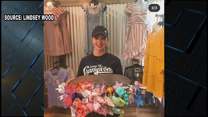 For seven years Lindsey has been sewing bows to raise awareness and money for the Foster Care...