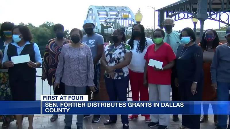 Sen. Sanders-Fortier distributes grants in Dallas County