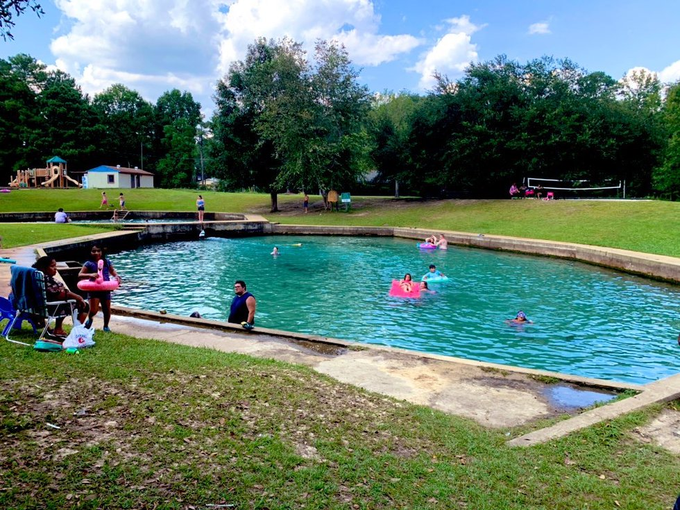 Tucked in the Wiregrass region, the parks two pools are the big draw for visitors. They are fed...