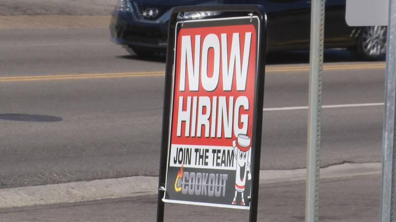 Help wanted signs can be found all across the city of Montgomery.