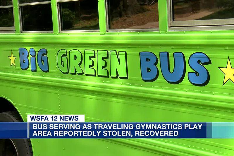 Stolen gymnastics play area bus recovered