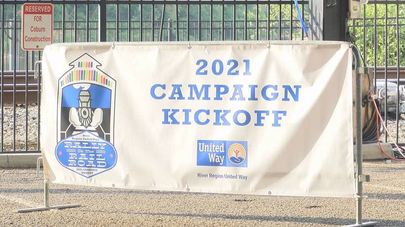 The River Region United Way kicked off its 2021 campaign with the Rally on the Railroad on Aug....