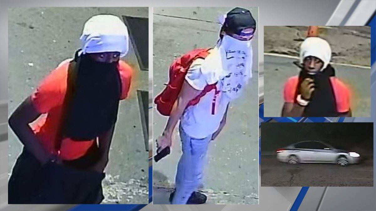 Law enforcement is asking asking the public for help identifying two suspects and an accomplice...