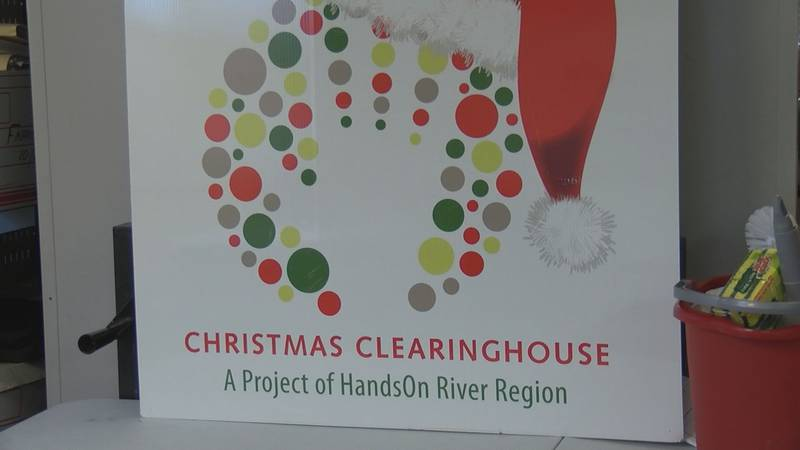The Christmas Clearinghouse partners with dozens of other agencies across the River Region to...