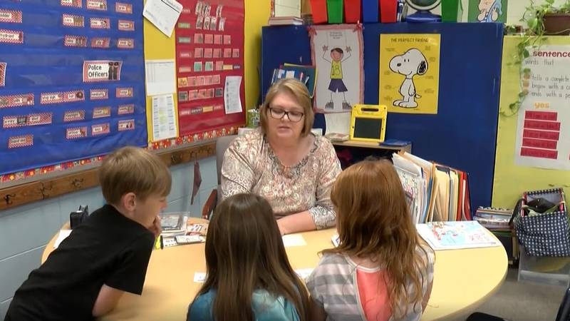 Holtville Elementary School's Brenda Wiggins describes her first graders as a 'real joy'